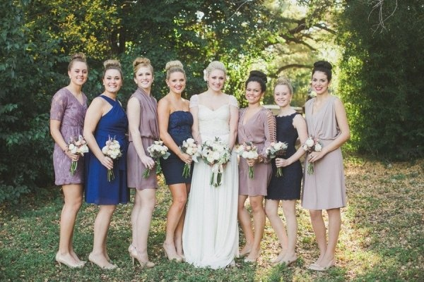 Bridesmaids Jewel Tones,  Oh So Classy Events