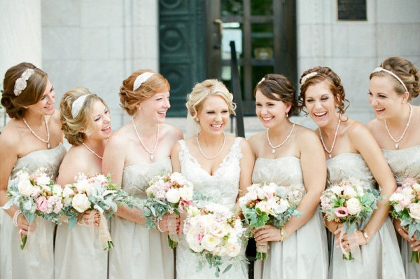 Bridesmaids Headbands,  Oh So Classy Events