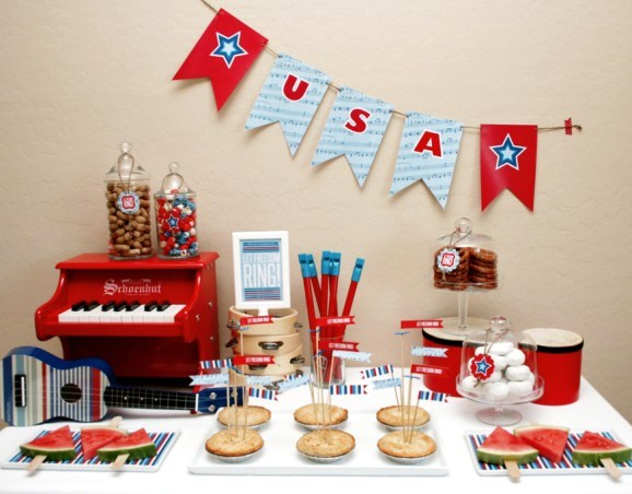 Wordless Wednesday 4th of July Parties, Oh So Classy Events