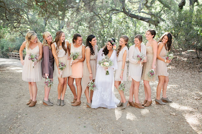 Cream Bridesmaids,  Oh So Classy Events