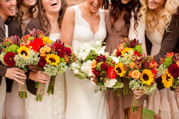 Bridesmaid Florals