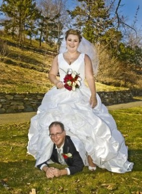 Bad Wedding Photo